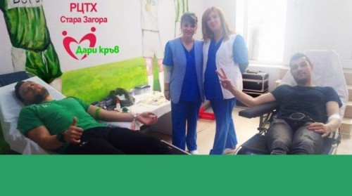 25 беройци дариха кръв за добра кауза