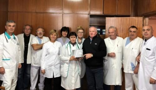 Нов апарат дариха за детското отделеение в Балчик