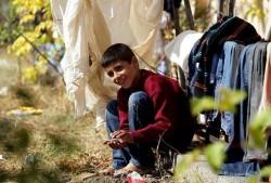 Временен пункт събира дарения за бежанци