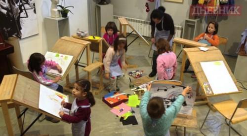 Деца прерисуват Матис, Пикасо и Полък в помощ на болни от рак деца