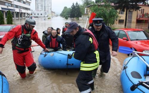 В София се събират помощи за хора, пострадали от наводненията в съседните страни