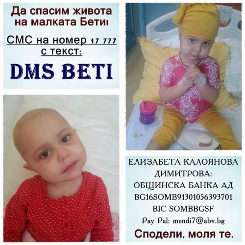 Да помогнем на Бети Димитрова