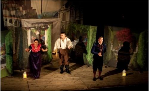 """Благотворителен пътуващ театър за деца от """"Протегни ръка"""""""