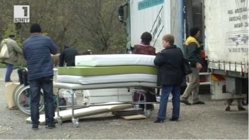 Дарение от Швейцария за наводнените райони във Врачанско