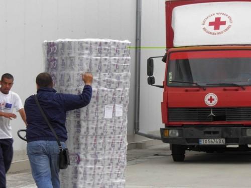 БЧК започна подпомагане на пострадали от наводненията