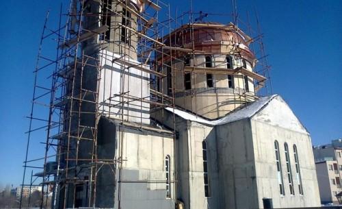 Необходими са средства за довършване на храма в столичния квартал Младост-3