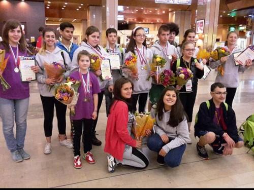 Деца, преборили рака, се връщат с медали от Москва