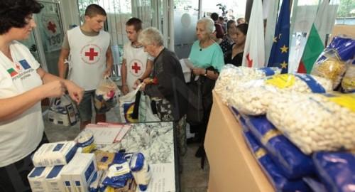 На есен БЧК ще раздава хранителни продукти в цялата страна