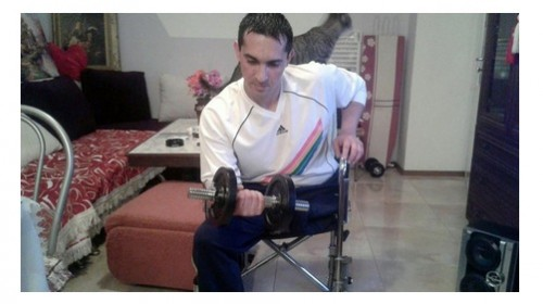 Андрей Димитров има нужда от още средства за протеза за крака си