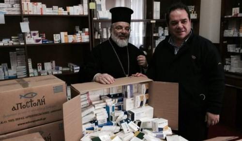 Лекарства за 900 000 евро ще раздаде Гръцката църква