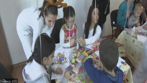 Приказка без край донесе Коледа на болните деца