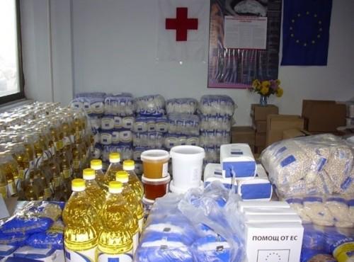 Започва раздаването на храни от Фонда за европейско подпомагане в Кюстендил