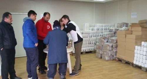 Днес приключва раздаването на храни в Северен