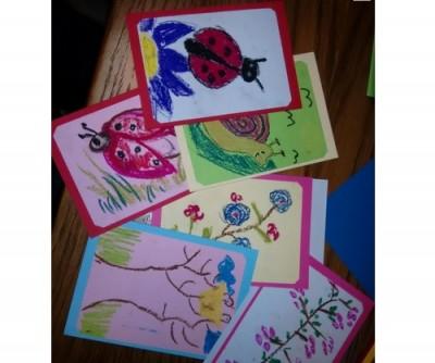 Млади инконографи рисуваха за деца от социални домове