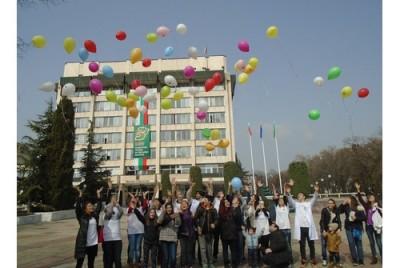 Събраха 400 лв. в Международния ден на редките болести за 5-месечната Ива