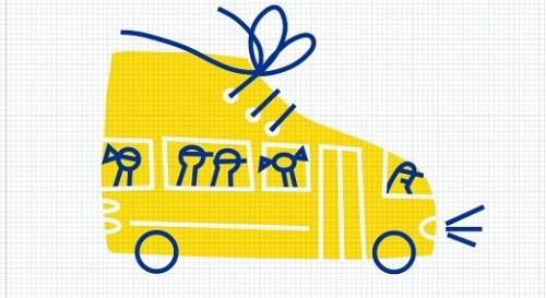Подари обувки и тетрадки на деца от крайно бедни семейства в гр. Септември