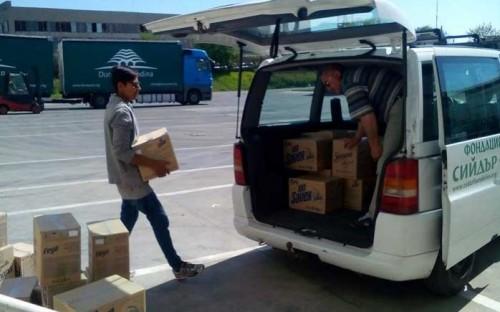 Голяма фирма дари на Национална мрежа за децата продукти на стойност над 35 000 лева