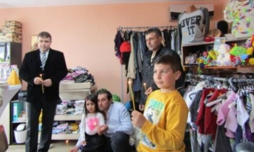 Магазинче за надежда в подкрепа на хора в нужда отвори врати в Разград