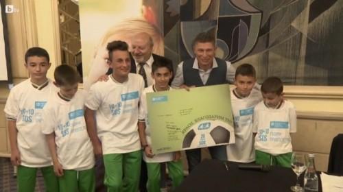 Краси Балъков дари над 17 000 лв за благотворителност