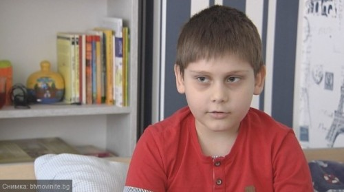 9-годишният Калоян от Варна се нуждае от спешна трансплантация в чужбина