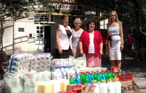 Приютът за бездомни деца във Варна получи дарение от храни и хигиенни материали