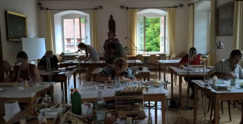 Български свещеник организира курсове по стенопис и иконопис в немски манастир