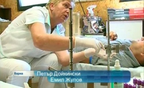 Кръводарителска акция в храма във Варна