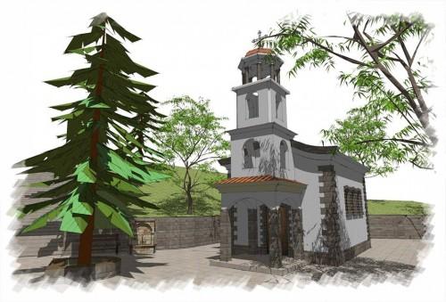 Купи книга и помогни за изграждането на църква в с.Загражден
