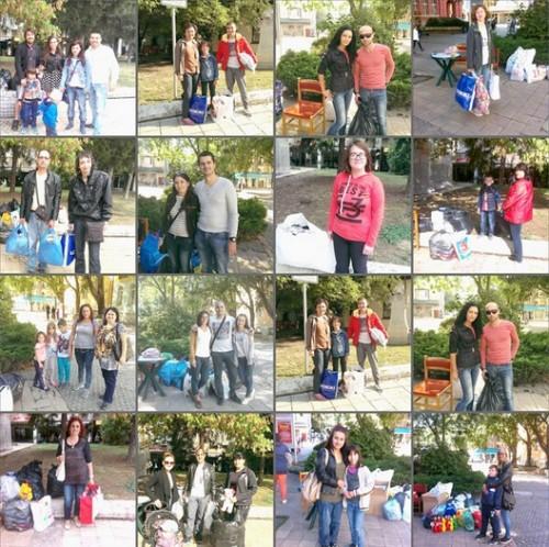 Над 100 чувала с дрехи, обувки и играчки дариха плевенчани в акцията на Ванин и приятели