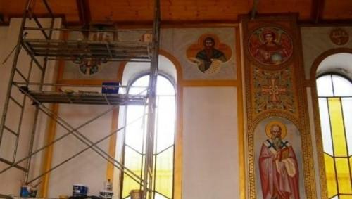 Призив за помощ на храм в Нови пазар