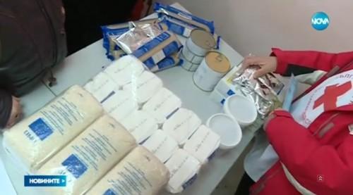 Започва раздаването на хранителните помощи за най-бедните в София