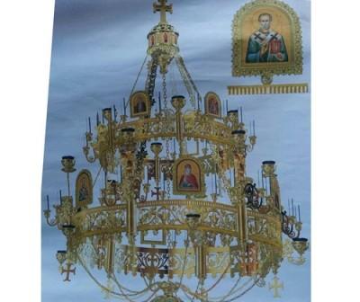 Банченският епископ Лонгин направи щедро дарение за новия катедрален храм на Ловеч