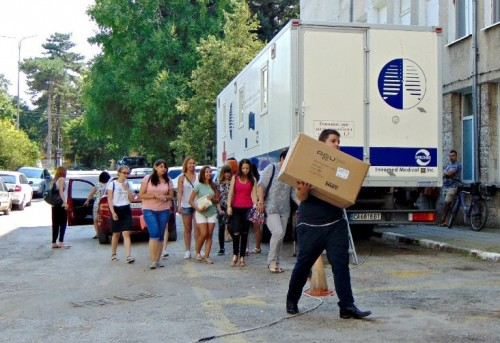 Ученици направиха дарение за болницата в Кубрат
