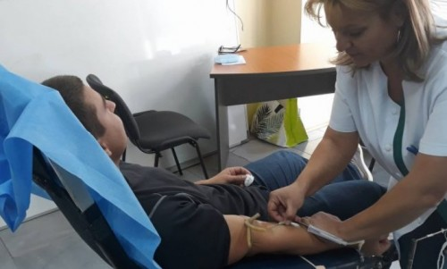 28 души дариха кръв в петата акция за кръводаряване в Самоков