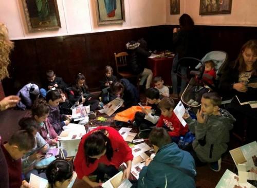 Най-новото неделно училище в столицата стартира работата си с картичките за Въведение Богородично
