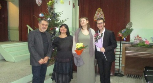 Благотворителен концерт на млади музиканти в Болницата в Раднево