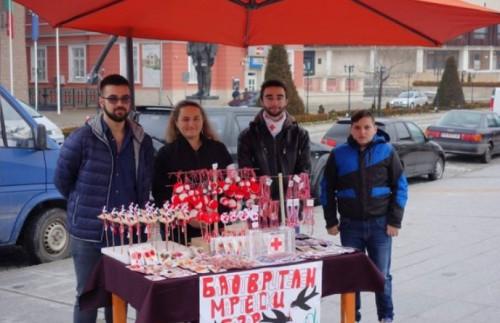 Червенокръстците от Панагюрище проведоха благотворителна акция