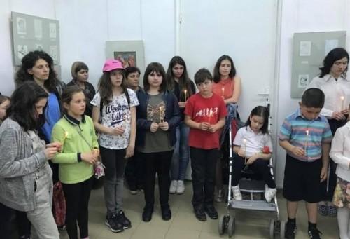 Изложба на икони, рисувани от деца, откриха в Стара Загора