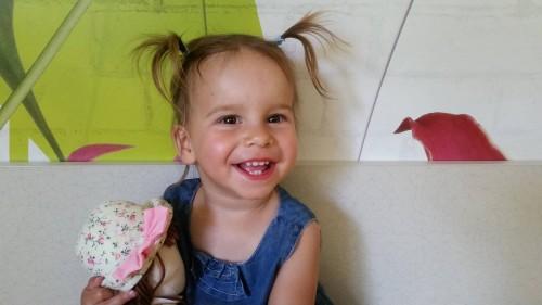 Мимиченце на почти 2 г. търси помощ за скъпоструваща операция