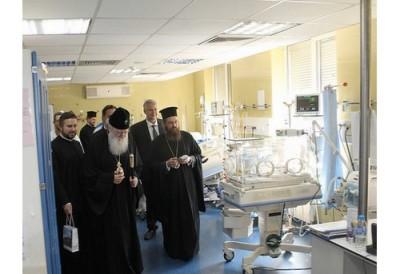 Софийска митрополия направи дарение за болница Пирогов