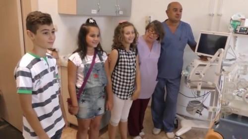 Деца дариха кувьози на Клиниката по неонатология в Стара Загора