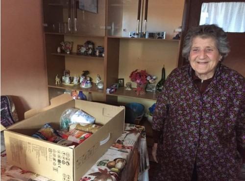Дариха храни за стари хора и многодетни семейства в планински села
