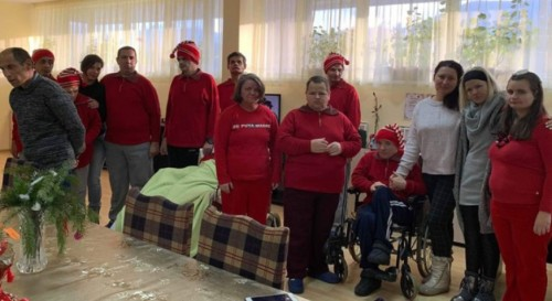 Доброволци дариха фитнес уреди на хора с увреждания в гр. Берковица