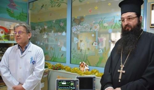 Синодът отново направи дарение за онкоболни деца
