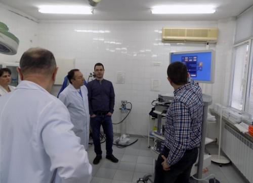 8000 лв. дарение за закупуването на реанимационна маса за новородени в МБАЛ – Поморие