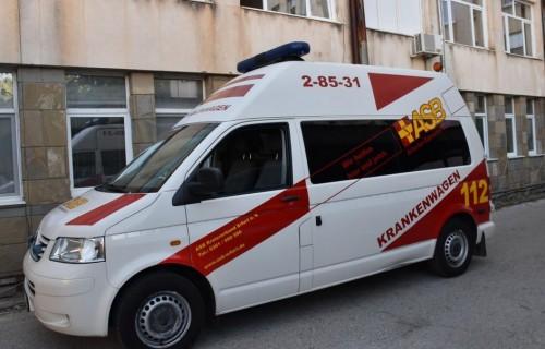 Ловешката болница получи линейка – дарение от побратимения немски град Ерфурт