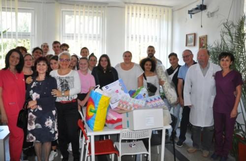 Френски ученици направиха дарение на дом за стари хора в Разлог и на МБАЛ-Разлог