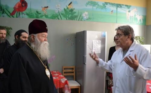 Клиниката по детска онкохематология на ИСУЛ получи дарение от Св. Синод