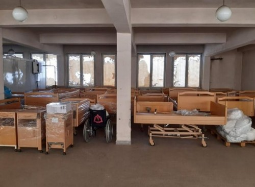 Голямо дарение от медицински легла получи Община Габрово от Германия