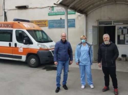 Берое с дарение за медиците в Стара Загора